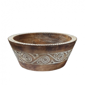 Large Timor Fruit Bowl - Timor Carvings and Wood Artworks
