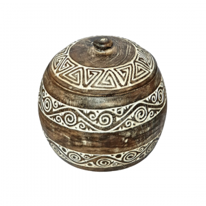 Hand Carved Timorese Fruit Bowls - GV LABL 2001
